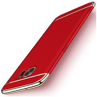 Samsung Galaxy C9 Pro Plain Cases Tidel - Red