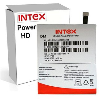 Intex Aqua Power HD 4000 mAh Battery by Intex