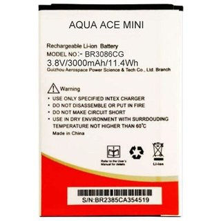 Intex Aqua Ace Mini 3000 mAh Battery by intex technologies india ltd