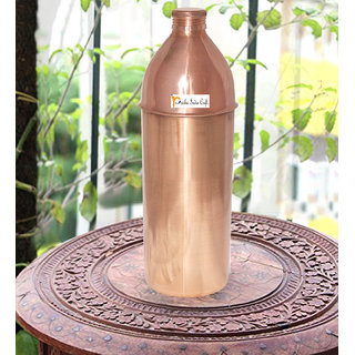 Thermos Copper Bottle With Lid
