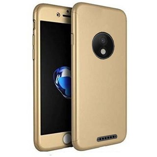 Motorola Moto E4 Plus Anti Gravity Cover ClickAway - Golden