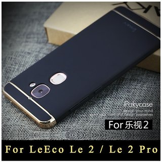 Letv Le 2 Plain Cases ClickAway - Black