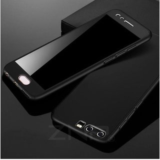 Vivo V7 Defender Series Covers ClickAway - Black with free selfie stick