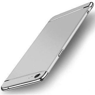 vivo V7 plus Plain Cases ClickAway - Silver