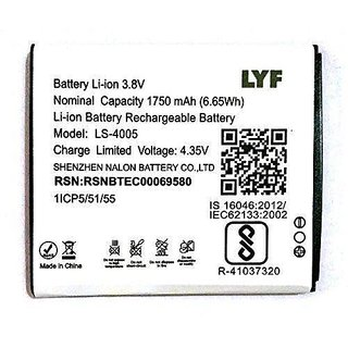 Lyf Flame 7 1750 mAh Battery by Online Addiction