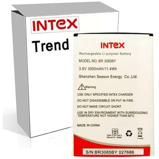 Intex Aqua Trend 3000 mAh Battery by Intex