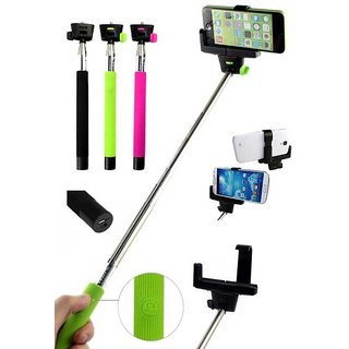 Mydress Mystyle Selfie Stick with Inbuilt Bluetooth for Andriod & iOS Mobiles