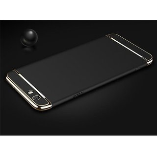 Vivo Y66 Plain Cases ClickAway - Black