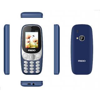 Mido 1616 Dual Sim Multimedia Phone With 1000 mAh Battery,Auto call Recorder Bluetooth And FM Radio