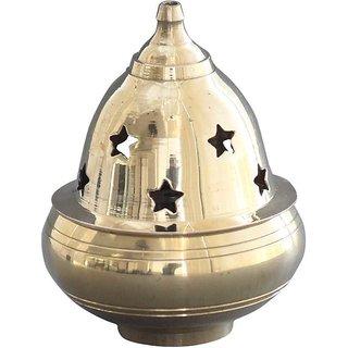 Brass Kuber Goblet Diya / Decorative Golden Pooja Deepak