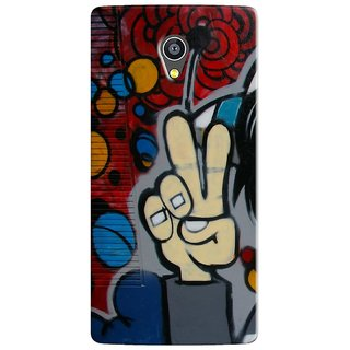 PREMIUM STUFF PRINTED BACK CASE COVER FOR PANASONIC A3 DESIGN 5574