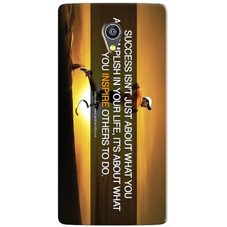 PREMIUM STUFF PRINTED BACK CASE COVER FOR PANASONIC A3 DESIGN 5602