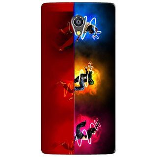 PREMIUM STUFF PRINTED BACK CASE COVER FOR PANASONIC A3 DESIGN 5703