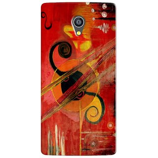 PREMIUM STUFF PRINTED BACK CASE COVER FOR PANASONIC A3 DESIGN 5661