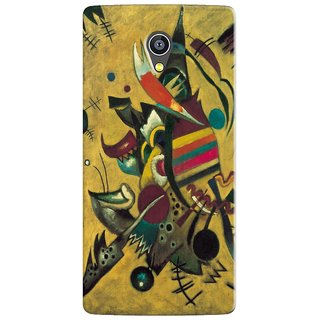 PREMIUM STUFF PRINTED BACK CASE COVER FOR PANASONIC A3 DESIGN 5686