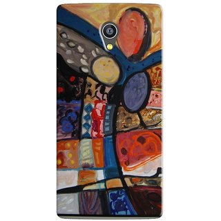 PREMIUM STUFF PRINTED BACK CASE COVER FOR PANASONIC A3 DESIGN 5687