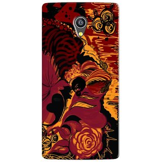 PREMIUM STUFF PRINTED BACK CASE COVER FOR PANASONIC A3 DESIGN 5708