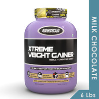 Big Muscles Xtreme Weight Gainer 6 Lbs (Milk Chocolate)