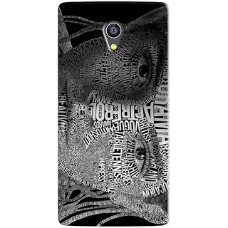 PREMIUM STUFF PRINTED BACK CASE COVER FOR PANASONIC A3 DESIGN 5768