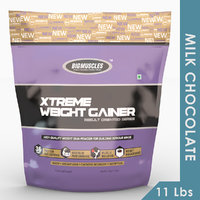 Big Muscles Xtreme Weight Gainer 11 Lbs (Milk Chocolate