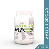 Big Muscles Critical Mass 2.2 Lbs (Cookie  Cream )
