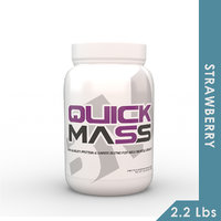 Big Muscles Quick Mass 2.2 Lbs (Strawberry)