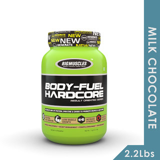 Big Muscles Body Fuel Hardcore 2.2 Lbs (Milk Chocolate)