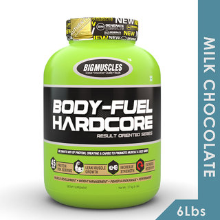 Big Muscles Body Fuel Hardcore 6 Lbs (Milk Chocolate)