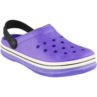 Birde Purple EVA Slip-On Clogs For Men