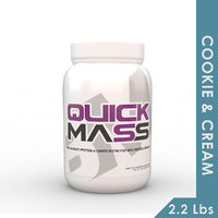 Big Muscles Quick Mass 2.2 Lbs (Cookie  Cream)