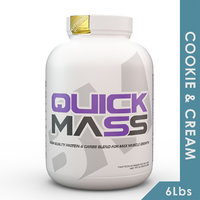 Big Muscles Quick Mass 6 Lbs (Cookie  Cream)
