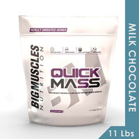 Big Muscles Quick Mass 11 Lbs (Milk Chocolate)