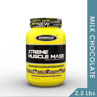 Big Muscles Xtreme Muscle Mass 2.2 Lbs (Milk Chocolate)