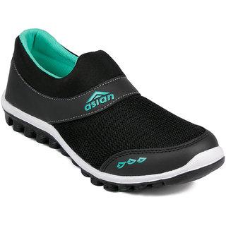 Asian Riya-04 Black Running Shoes