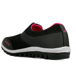 ebf6a140eccee4 Buy Asian Riya-04 Black Running Shoes Online @ ₹489 from ShopClues