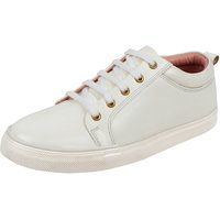 Sassie Women'S White Casual Sneaker