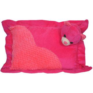UDAK Teddy Pillow Soft Toy(Dark Pink)