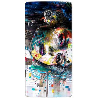 PREMIUM STUFF PRINTED BACK CASE COVER FOR INTEX AQUA Q5 DESIGN 5589