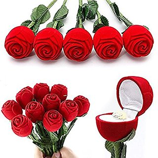 Red Ring Rose Box
