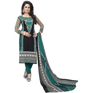 f1b84b819f Buy Hanuman Fabrics Multicolour Crepe Unstitched Salwar Suit Online ...
