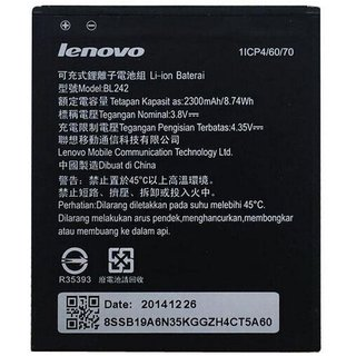 Lenovo BL242 2300 mAh Li-Ion Original Battery for Lenovo A6000, A6000 Plus (BL242) - LE
