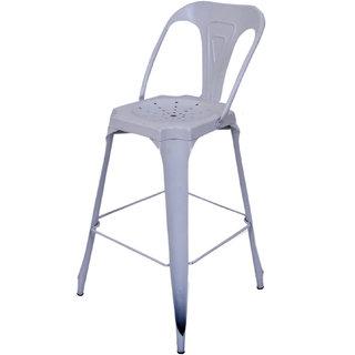 Mani Creations Multicolor Iron Bar Chair / 52x52x105