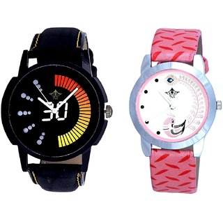 Race High Speed And Pink Peacock Feathers Girls Analogue Watch By Ganesha Exim