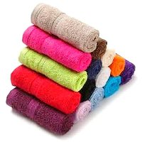 SoftDecor 12Pcs Multicolor Face towels