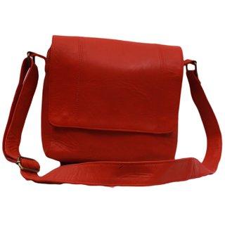 a3bcab5d51 Buy SS Leathers Light Brown Plain Unisex Messanger Bag Online ...