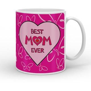 Indigifts Mom Birthday Gifts Coffee Mug Ceramic Pink 330 Ml Set Of 1