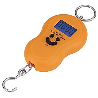 Portable Electronic Luggage Lcd Weighing Scale 40kg