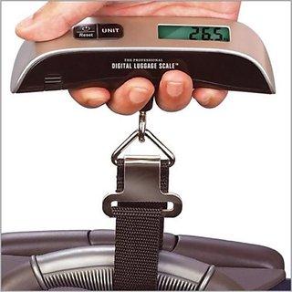 FABUTA 50KG PORTABLE HANDHELD ELECTRONIC DIGITAL LCD TRAVEL LUGGAGE WEIGHING SCALE
