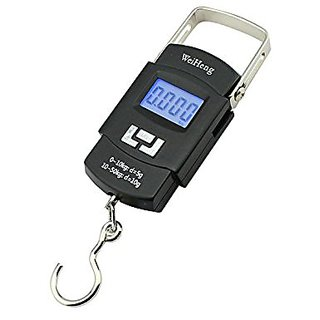 RECTA 50Kg Portable Electronic Digital Weighing Hanging Scale For Travel Luggage