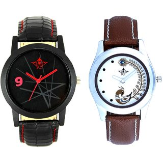 Orion Star And Brown Peacock Feathers Girls Analogue Watch By SCK